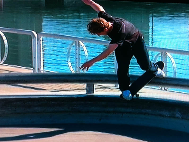 Busenitz back nose blunt 3rd and army corner