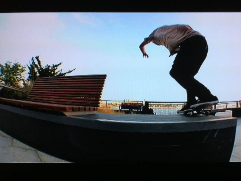 Evan Smith back lip in amazing line