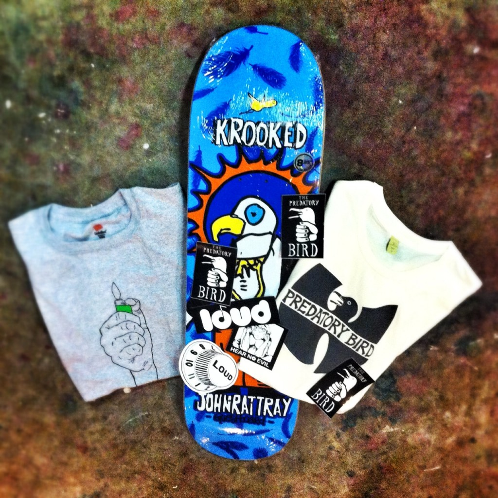 LOUD contest prize pack