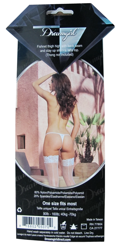 lingerie packaging from behind
