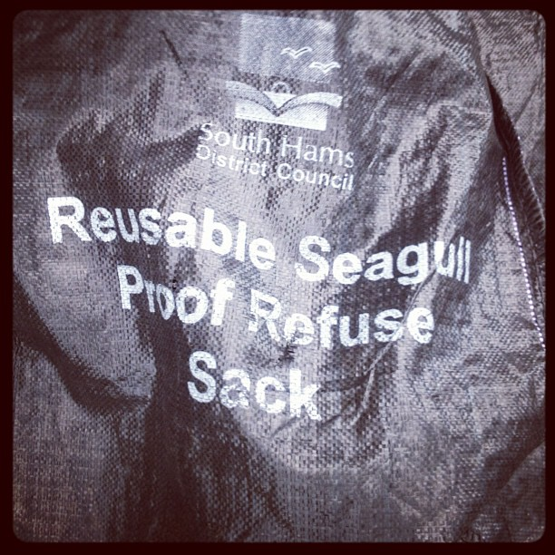 reusable seagull proff refure sack