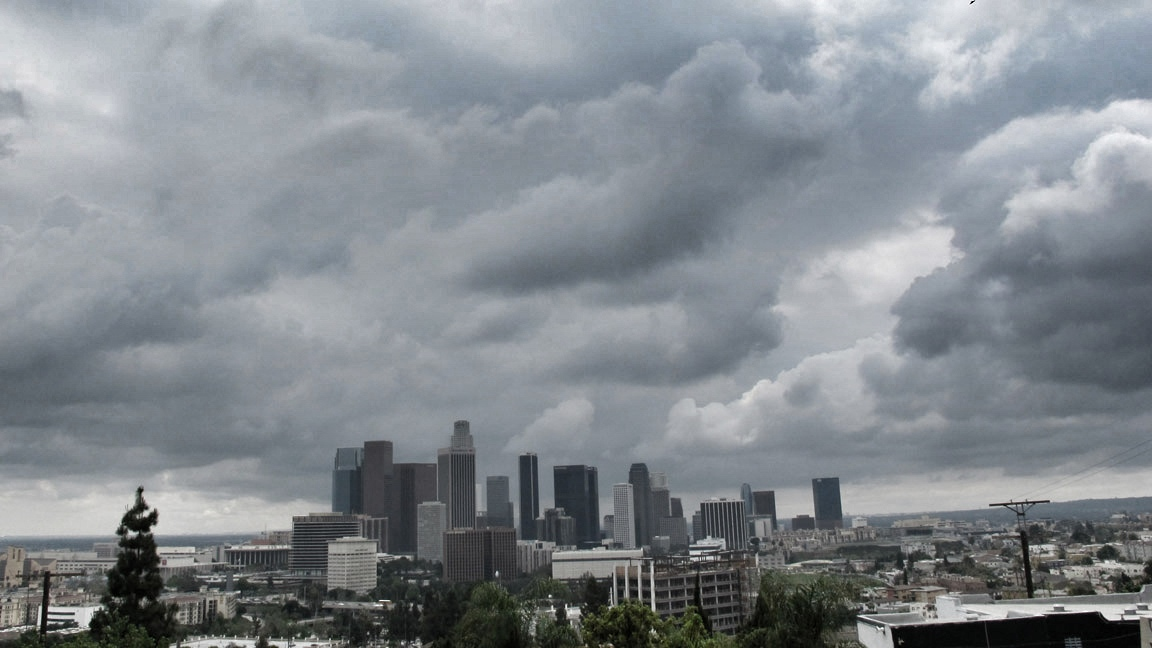 Clouds over Los Angeles