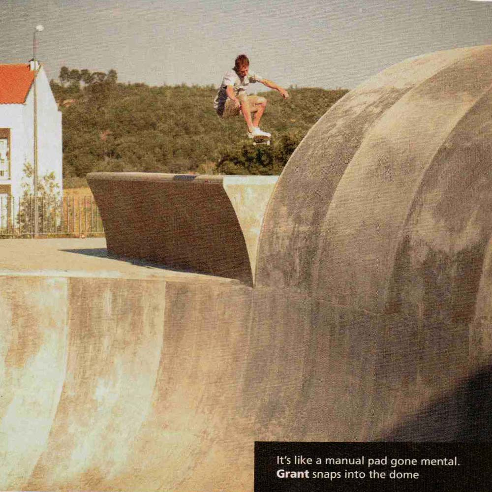 Grant Taylor Ollies into a mental bowl in Portugal