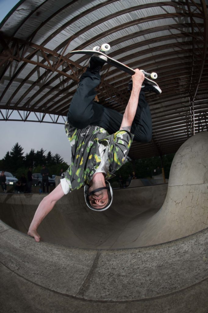 John Rattray Egg Plant Lincoln CIty Skatepark during the Good Egg Cycle Trip in Aid of Suicide Prevention